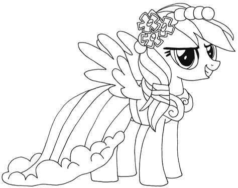 Rainbow Dash Coloring Pages To Download And Print For Free Coloring Pages 9 Year