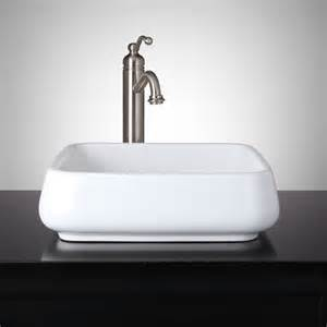 vessel bathroom sinks beshore square porcelain vessel sink vessel sinks