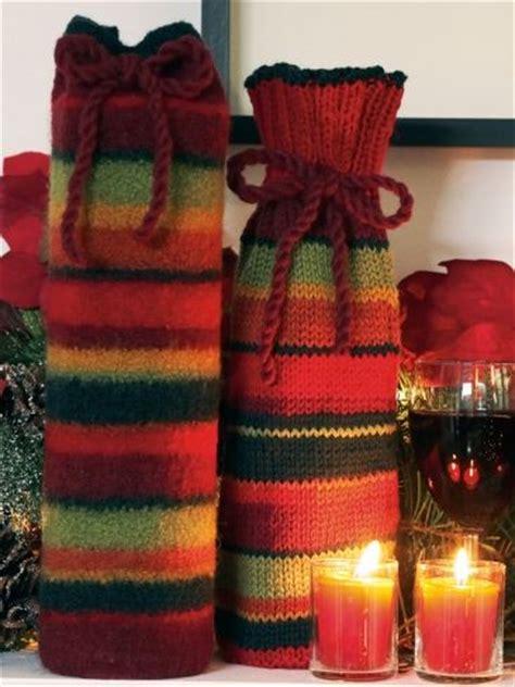 knitting pattern wine bottle cover free pattern knit patterns and bottle on pinterest