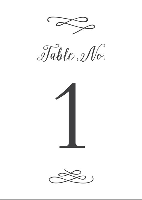 free printable table numbers wedding printables and free wedding templates basic invite