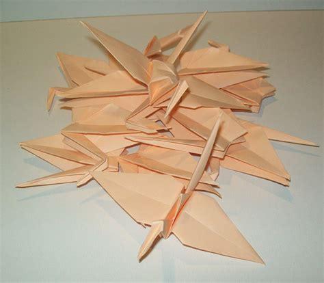 Origami Crane Decoration - wedding origami crane decor set of 1000 origami crane