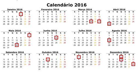 calendario de 2016 do iperj calendario com feriados 2016 angola