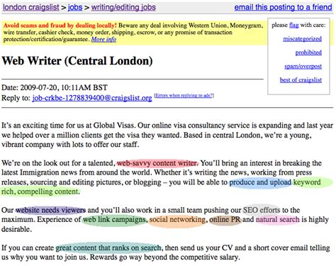 Seo Copywriter Cover Letter by Getting An Seo Copywriting Moz