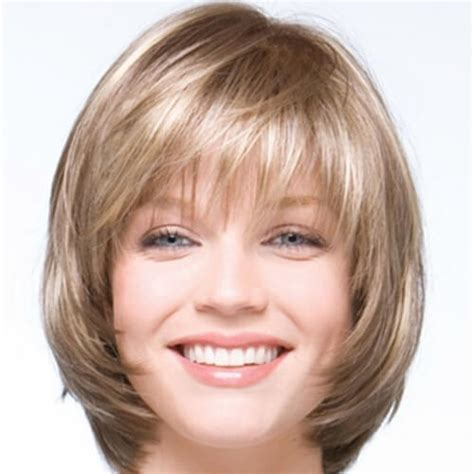 hairstyles with bangs on round faces top 34 best short hairstyles with bangs for round faces