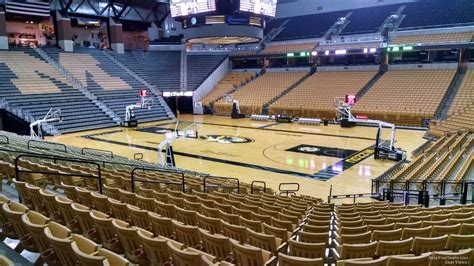 Section 8 Columbia Mo by Mizzou Arena Section 108 Rateyourseats