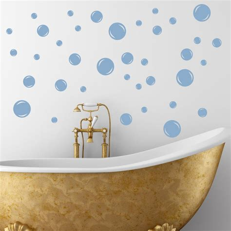 Bathroom Vinyl Decor 60 Bath Bubbles Bathroom Soak Tub Vinyl Wall Decal