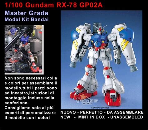Bandai Gundam Master Grade Kits 1 100 Mg Gundam Fenice Berkualitas gundam 1 100 rx 78 gp02a master grade model kit mg