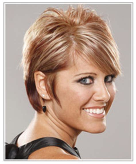 triangle face shape hairstyles with fine hair best short hair for heavy faces short hairstyle 2013
