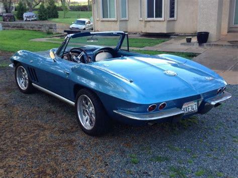 corvette stingray 1965 for sale 1965 corvette stingray roadster for sale chevrolet