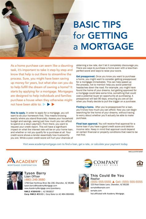 10 Tips For Getting A Home Loan by All Of Our Flyers And Mailers 10 Handpicked Ideas To