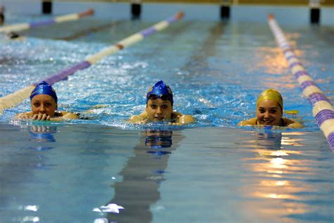 at the swimming at the 50m pool team bath