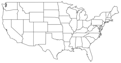 fillable map of the united states best photos of united states map to fill in blank blank
