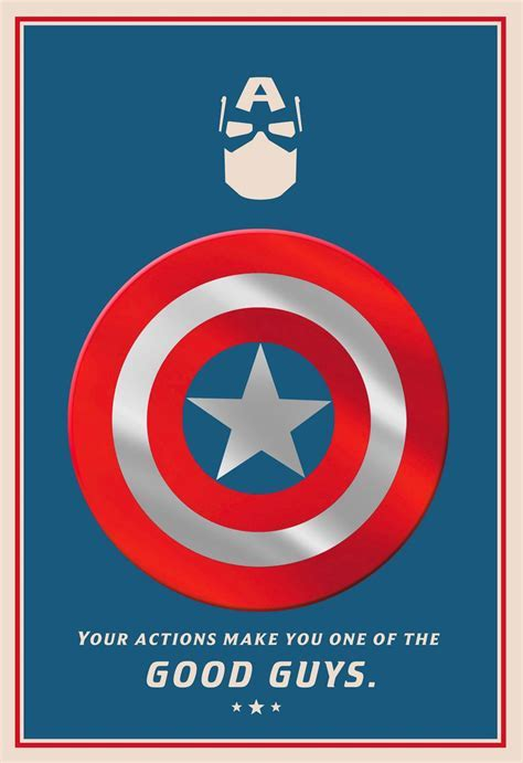 Marvel Captain America One of the Good Guys Father's Day