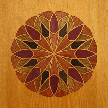 Amoeboid Zingatularian Wood Marquetry Kit Art