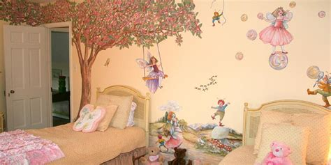 Woodland Wall Mural fairy wall decals fairy wall stickers fairy murals by