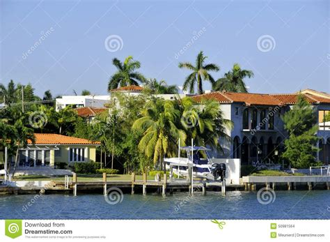 makers in miami florida house in star island editorial stock image image 50981564