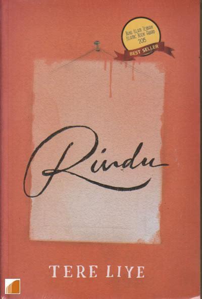 Buku Novel Rindu Tere Liye Republika Yi rindu cover baru oleh tere liye