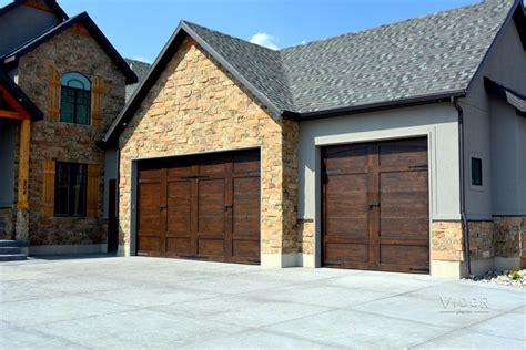 Steel Carriage House Garage Doors Modern Custom Garage Doors Provo Orem Ut Vidor Garage Doors