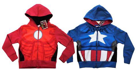 jumper film marvel kids boys official marvel avengers hoodie hooded