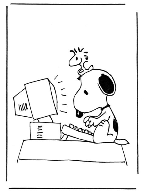 Snoopy Coloring Pages Coloring Pages To Print Snoopy Coloring Pages