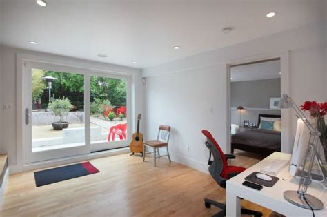 converting garage into master bedroom garage master suite modern bedroom san francisco