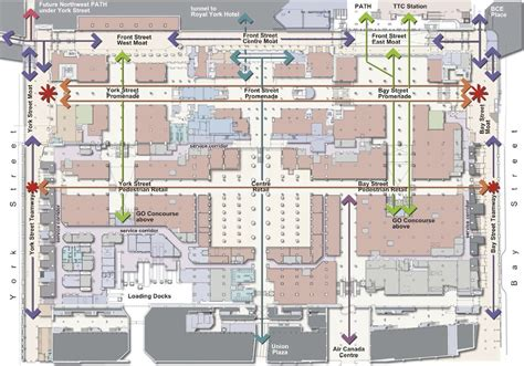 chicago union station floor plan union station revitalization toronto