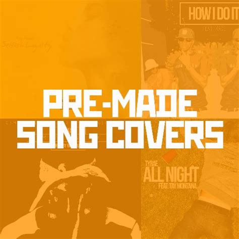 Pre Made Song Covers Songcoverz Twitter