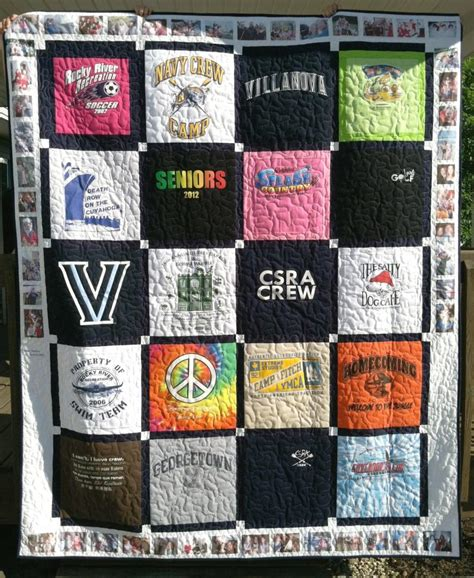 T Shirt Memory Quilts by Custom Memory Quilts T Shirt Quilts