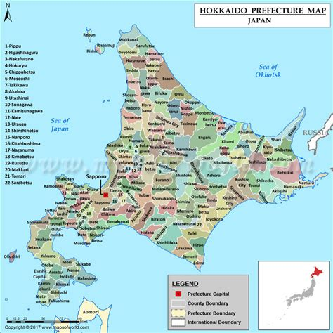 printable map hokkaido hokkaido prefecture map map of hokkaido prefecture japan