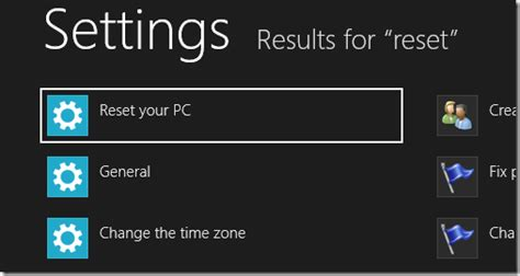 hp resetting your pc 1 how to refresh or reset windows 8 and what they mean