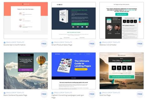 leadpages templates leadpages review how i use leadpages for affiliate marketing