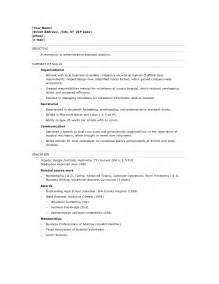high school graduate resume sle sles of resumes