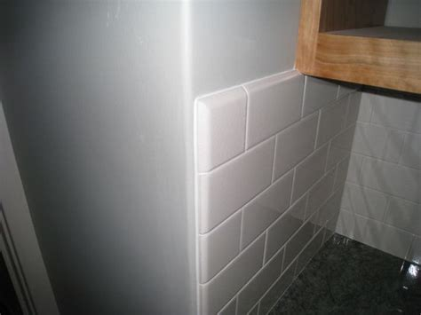 subway tile bullnose kitchen renovation
