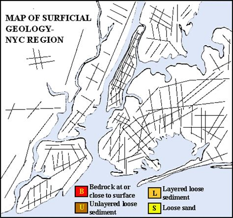 nyc surficial geology rollover map