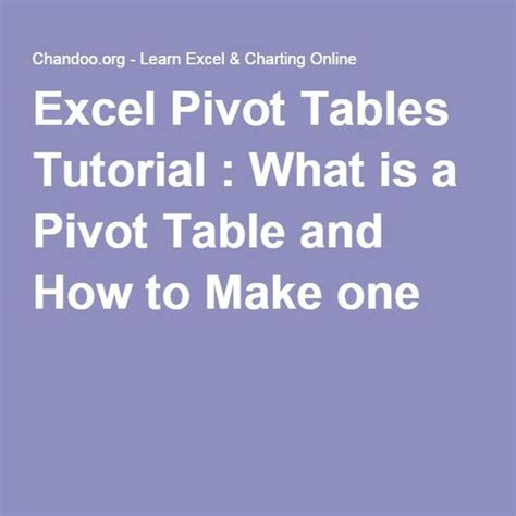 what s a pivot table 25 best ideas about pivot table on computer