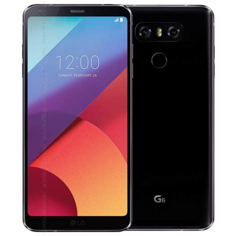 Hp Lg G6 lg g6 black h870 8806087020083 movertix mobile phones shop