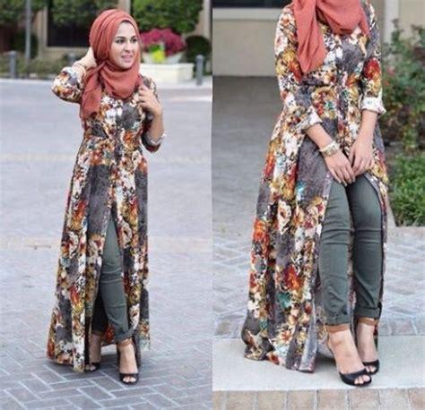Tunik Blouse Muslim Pinguin Flowy 3in1 lookbook ideas just trendy