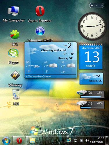 pc themes for mobile windows 7 theme windows mobile