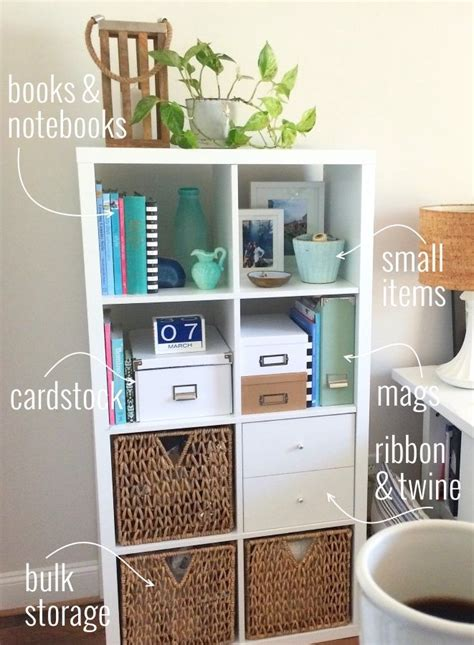 organizing your home office organizing your home office with the ikea kallax shelf