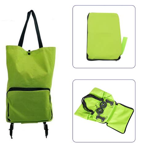 Trolley Foldable Shopping Travel Bag Tas Tenteng Troly Handbags buy wholesale shopping trolley bag from china
