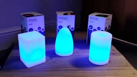 color changing table smooz rechargeable led colour changing table lights
