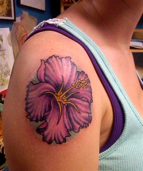 pinks tattoo on her shoulder collection of 25 pink ink hibiscus tattoo on right shoulder