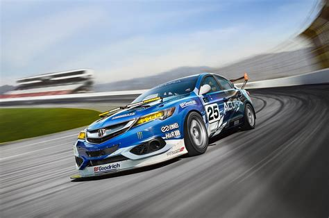 race car acura ilx endurance race car to debut in york
