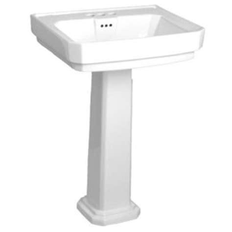 Mirabelle Pedestal Sink miram358wh miram350wh amberley pedestal bathroom sink white at shop ferguson
