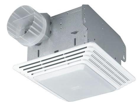 bathroom fan light combo reviews broan 174 ceiling bath fan with light 50 cfm at menards 174