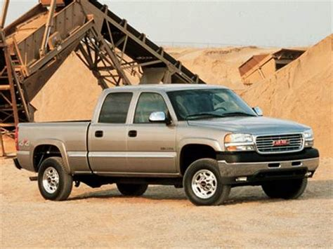 2001 gmc sierra 2500 hd crew cab | pricing, ratings