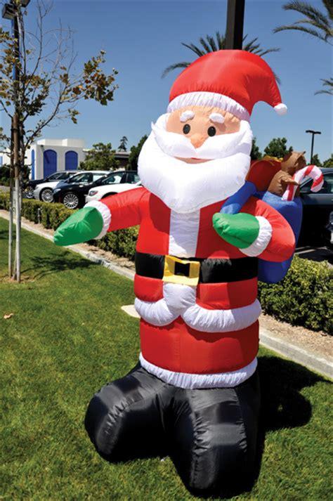 holiday inflatable santa claus ez543 santa giant