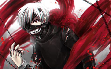 Topeng Anime Tokyo Ghoul Kaneki 3 karakter anime bertopeng paling ditakuti