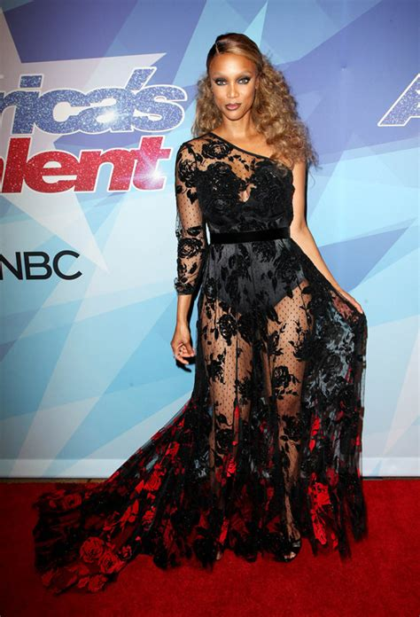 Tyras Fashion Miss by Heidi Klum Banks And Mel B Duke It Out At The