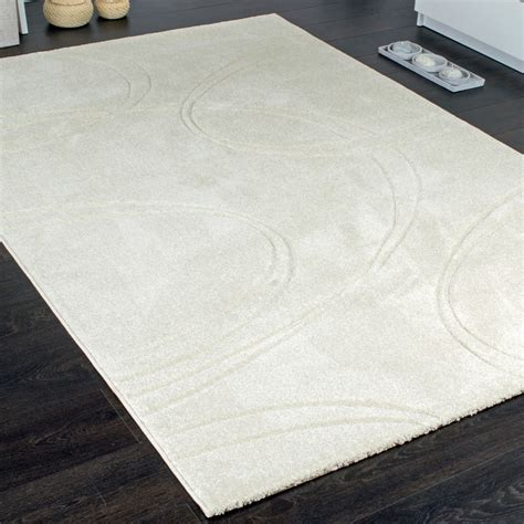 Teppich Creme by Teppich Einfarbig Designerteppich Mit Handgearbeiteten